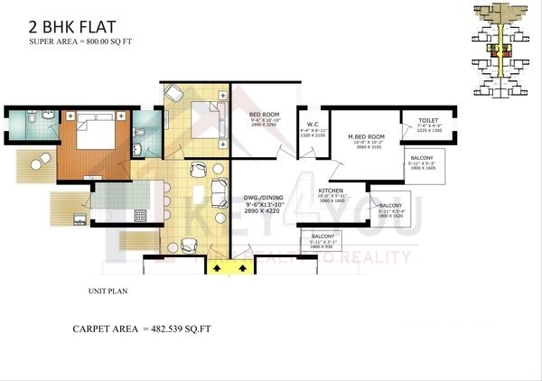 affordable housing project in sector 5 gurgaon Floor Plan