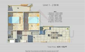 Arete Our Homes Sector 6 Sohna Floor Plan