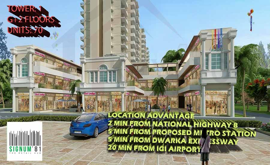 Signature Global Signum 81 Gurgaon Commercial Shops in Gurgaon