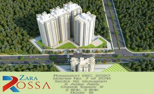 Zara Rossa Sector 112 Gurgaon 2 BHK flat for sale in Dwarka Expressway.