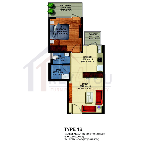 bedarwal affordable housing projects in gurgaon Floor Plan
