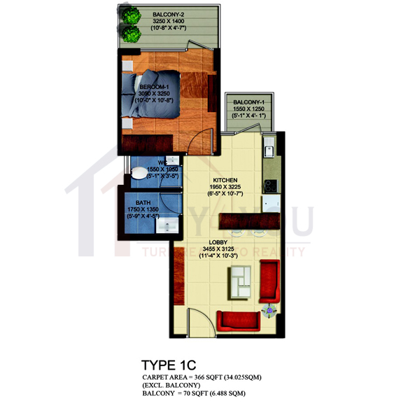 affordable housing project in sector 63a gurgaon Floor Plan