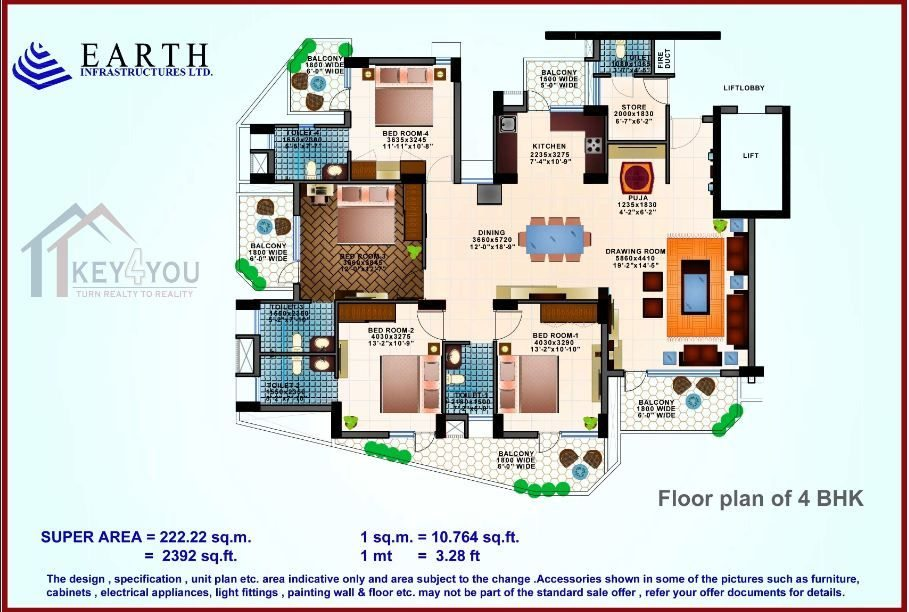 Earth Copia Floor Plan 3