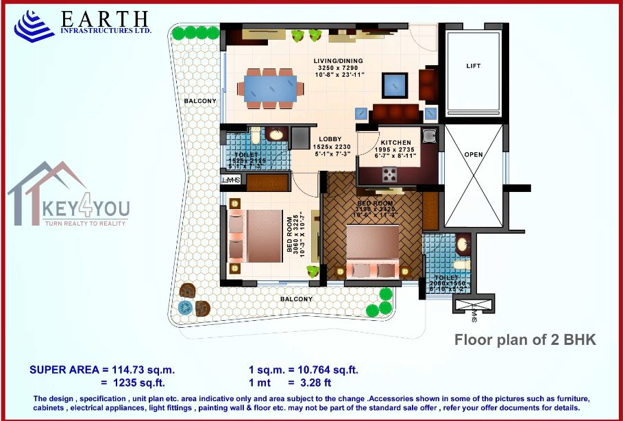 Earth Copia Floor Plan 2