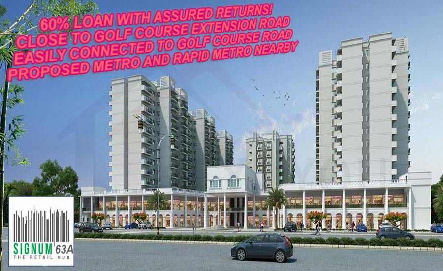 Signature Global Signum 63A New Commercial Property in Gurgaon
