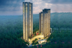 banner krisumi waterfall residences