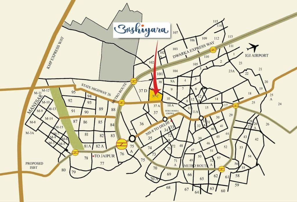 imperia aashiyara location map