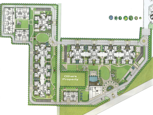 Bestech Park View Ananda Site Plan