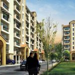 Emaar MGF Palm hills elevation