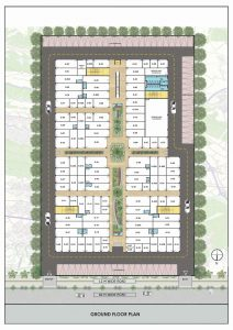Samyak Town Plaza Floor Plan Ground floor