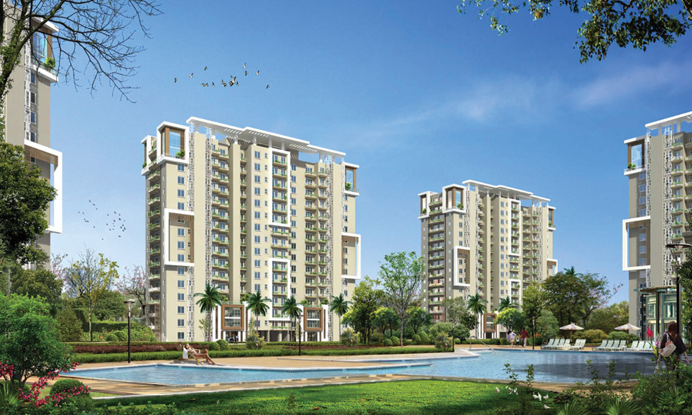 Emaar MGF Palm Gardens in Sector 83 – 3 & 5 BHK Apartments